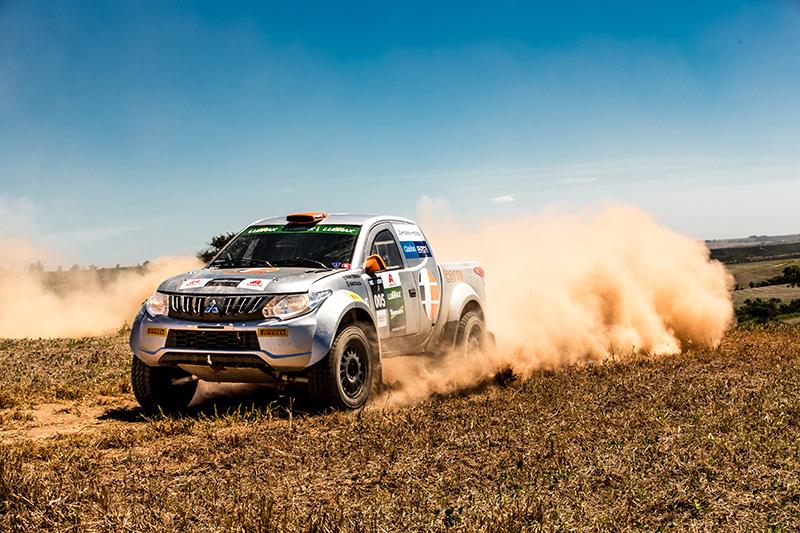 L200 Triton Sport RS enfrenta os maiores desafios no rali