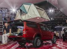 Picape tem até barraca Campings World