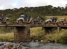 UTVs e quadriciclos têm aventura off-road entre Itajaí (SC) e Gramado (RS)