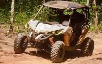 Grupo de quadriciclos e UTVs explora o Jalapão, no Tocantins