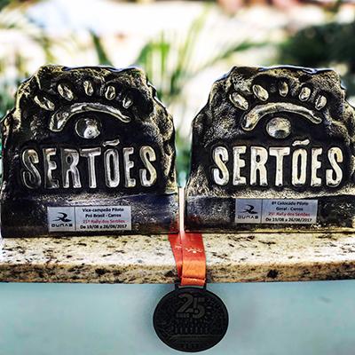 A Bulldog Racing levou para casa dois troféus do maior rali do Brasil