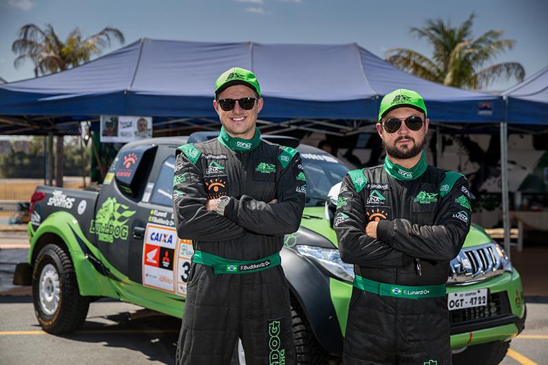 A dupla Flávio Lunardi e Fred Budtikevits foi vice campeão da Pró Brasil  (Doni Castilho/DFOTOS)