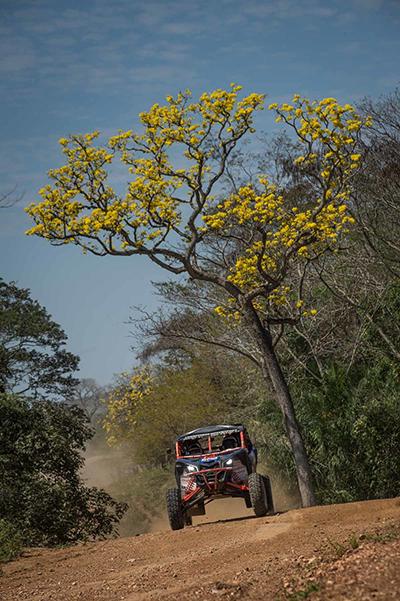 A 7a etapa teve 420km entre Aquidauana e Bonito  (Gustavo Epifânio/Fotop)