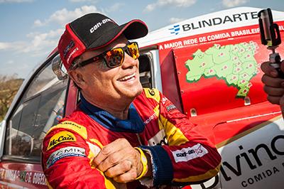 Reinaldo Varela e um dos principais nomes do rally brasileiro (Foto: Marcelo Maragni/Fotop)