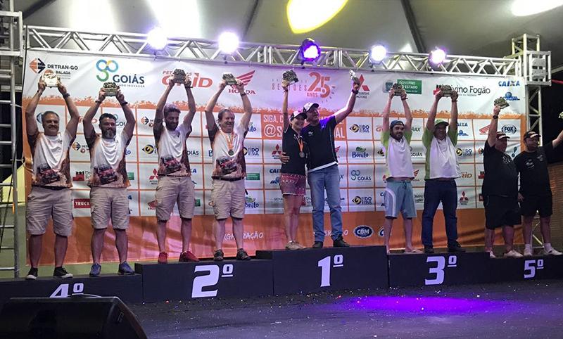 Roberto Bontempo e Leonardo Martins conquistaram o quinto lugar da Graduados