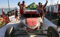 Varela e Gugelmin terminaram em terceiro e estão em terceiro no campeonato (Foto: Divulgação)