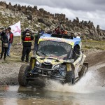 Brasileiros lideram os UTVs do Rally Dakar 2018 após seis etapas