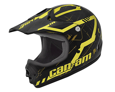 CAN-AM X1 Cross - Diag Frontal - Amarelo 2018