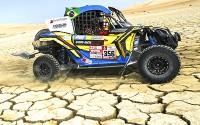Brasileiros conquistam a liderança dos UTVs no Rally Dakar 2018