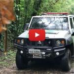 Polícia Militar Ambiental de SP realiza teste do Agrale Marruá