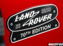 Land Rover lança edição especial do Defender em comemoração aos 70 anos da marca