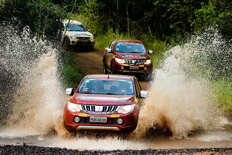 Rali Mitsubishi Motorsports é um dos mais tradicionais do País - Foto: David dos Santos Jr. / Mitsubishi