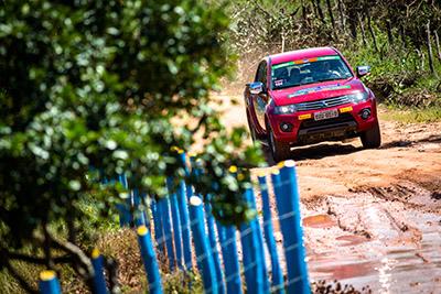 Muita diversão no Mitsubishi Motorsports - Foto: Tom Papp. / Mitsubishi