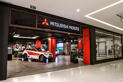 MIT Point, a loja conceito da Mitsubishi Motors no Shopping JK Iguatemi