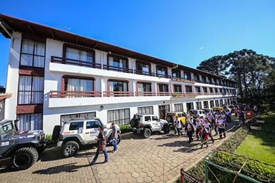 O 10º Transcatarina terá concentração no Hotel Renar, em Fraiburgo, SC  (Douglass Fagundes/DFOTOS)