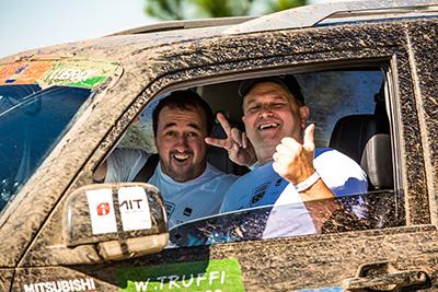 Amigos e famílias se divertem nos ralis - Foto: Ricardo Leizer / Mitsubishi
