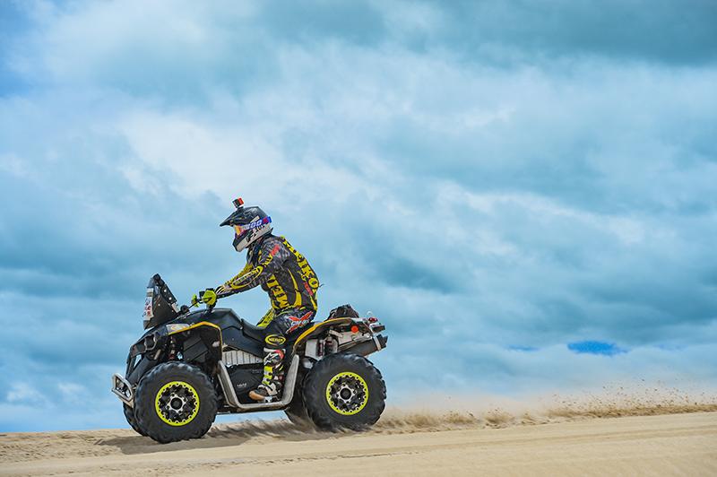 Belmont estará no comando do quadriciclo Can-Am Renegade 1000cc (Fábio Davini/DFotos)
