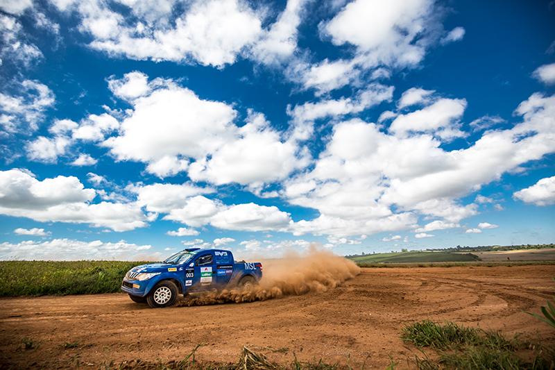 Variação de terrenos será o diferencial da prova - Foto: Marcio Machado / Mitsubishi
