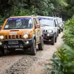 Passeio off-road Suzuki Day desbrava Petrópolis (RJ) neste fim de semana