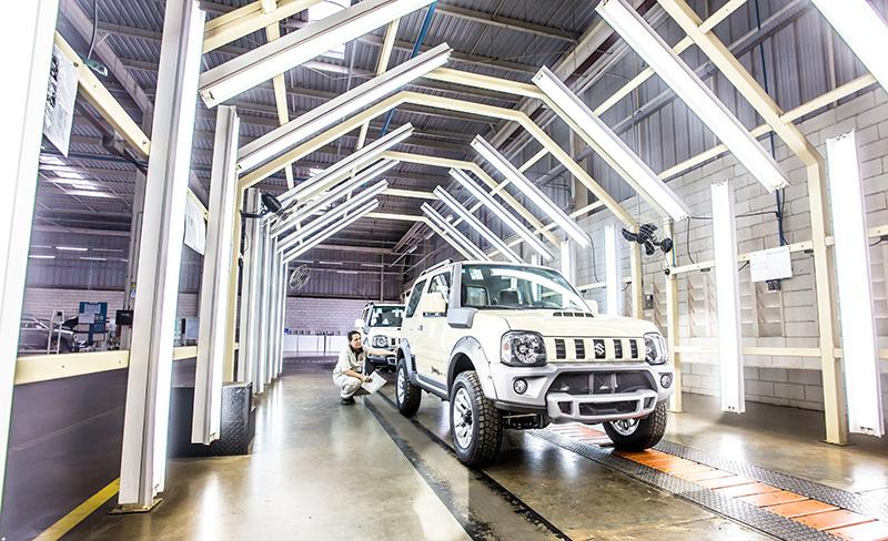 Suzuki Jimny é fabricado no Brasil com os mais altos padrões de qualidade