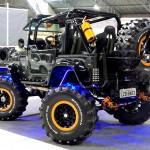 Jeep apresenta sistema de eixo com direção dianteira e traseira