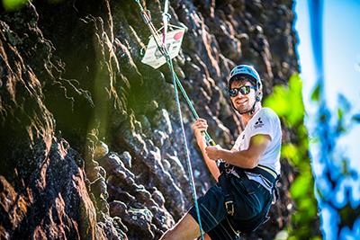 Rapel será uma das atividades - Foto: Tom Papp / Mitsubishi