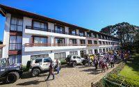 Há dez anos, a concentração do Transcatarina é realizada no Hotel Renar  (Douglass Fagundes/DFOTOS)