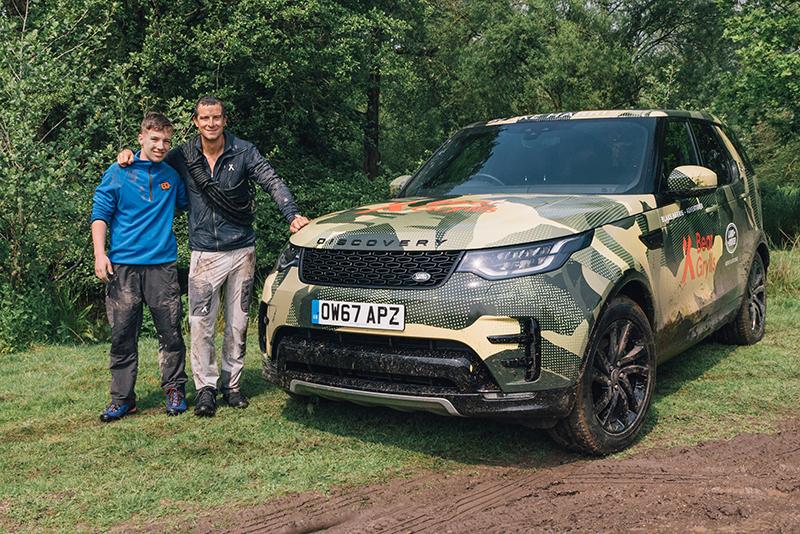 Blake Harris - Bear Grylls - Land Rover Discovery