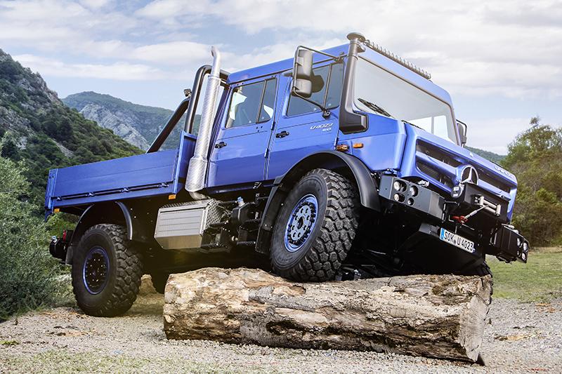 Unimog Geländewagen des Jahres 2018