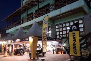 Estande Montreal Powersports na Fenajeep, em Brusque (SC). Crédito: Divulgação