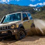 Jimny Desert traz elementos exclusivos com muito mais off-road