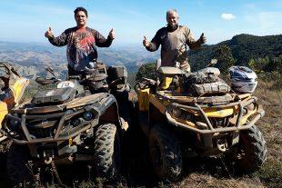 Expedição da Fé soma mais de 700 quilômetros de percurso off-road. Crédito: Divulgação/Quadrijet