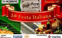 A maior Festa Italiana Jipeira acontece neste final de semana