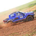 No Rally dos Amigos, Gunter Hinkelmann celebra o vice campeonato no Brasileiro Cross Country