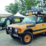 1º Encontro de 2019 do Land Rover Clube de São Paulo no Expo SP