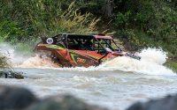 Mauricio Pena Rocha acelera o UTV Can-Am Maverick X3 na abertura do Brasileiro de Rally Baja 2019. Crédito: Doni Castilho/DFotos
