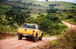 Relevo e piso da região de Tiradentes desafiaram a Nação 4x4 - Adriano Carrapato/Mitsubishi