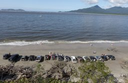 Passeio 4×4 e acampamento beira mar em Ilha Comprida e Ilha do Cardoso-SP