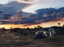 Novo Land Rover defender completa testes no Quênia