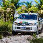 Rali Mitsubishi Motorsports desembarca em João Pessoa (PB) no dia 27 de julho