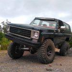 Chevrolet Blazer K5 equipada para qualquer terreno