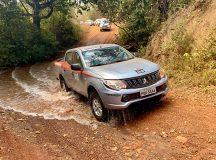 Picapes da Mitsubishi atravessam o Brasil - Robert Ager / Overlander