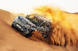 Cruz Vermelha  testa novo Land Rover Defender ao limite no deserto