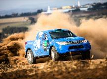Tempo seco renderá muita poeira - Tom Papp / Mitsubishi