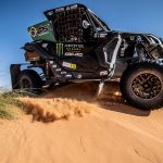 Brasileiros comemoram título mundial de Rally Cross Country com o UTV Can-Am Maverick X3