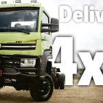 VW lança caminhão Delivery 4×4 único no Brasil