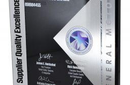 NGK é a única empresa a conquistar o Supplier Quality Excellence Award da GM em todas as edições
