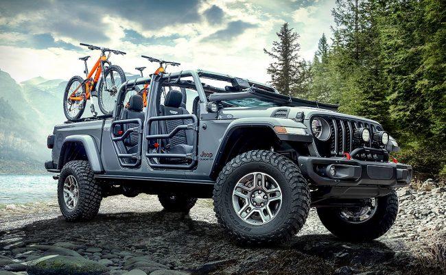 Jeep® Gladiator é nomeado Picape do Ano 2020
