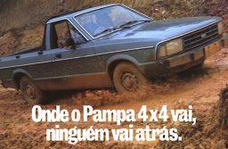 Ford Pampa, uma picape pioneira que inovou o segmento e entrou para história