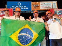 Brasileiros com missão cumprida: Maykel, Mendes, Piano e Luppi (Tuco On Track)